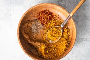 Kichererbsen Curry Schritt 3