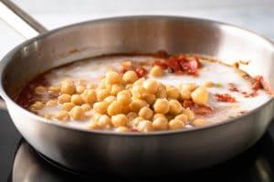 Kichererbsen Curry Schritt 6