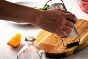 Melonen Feta Salat Schritt 5