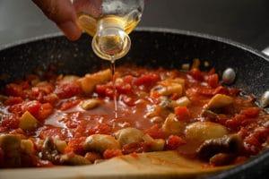 Metaxa Sauce Schritt 5